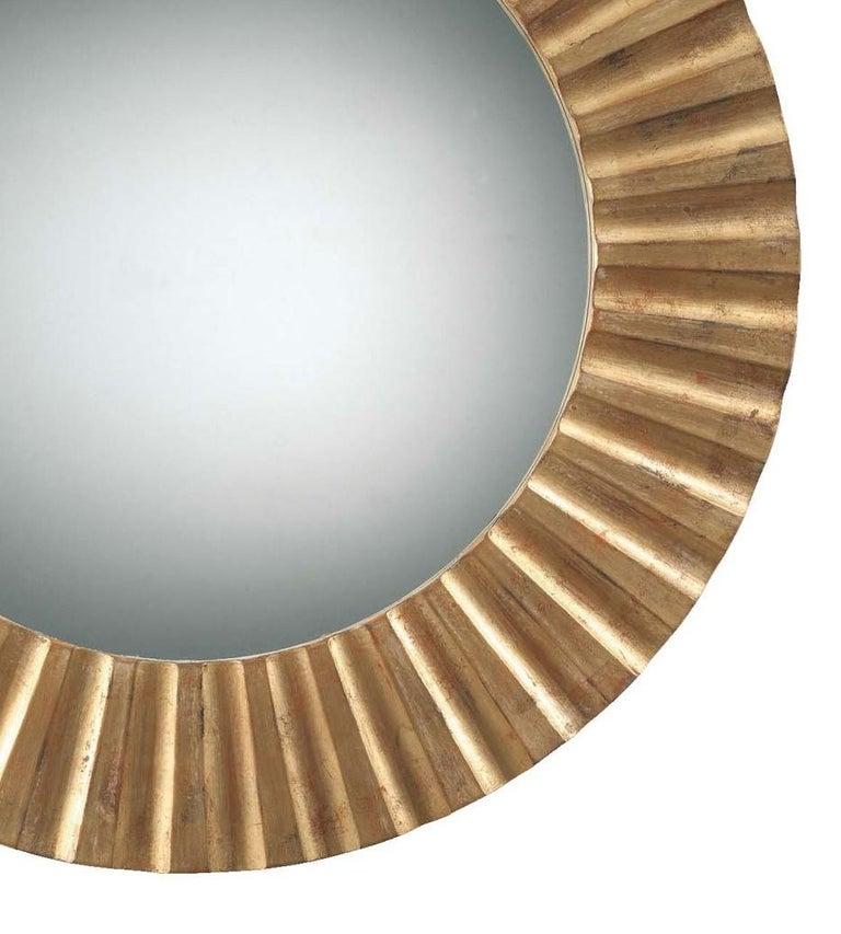 Italian Sun Gold Mirror by Spini Firenze