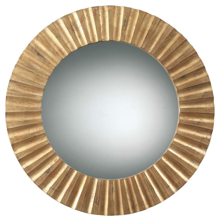 Sun Gold Mirror by Spini Firenze In New Condition In Milan, IT