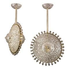 Sun Murano Glass Chandeliers