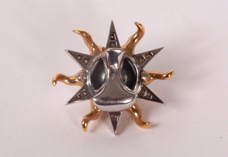 Sun Pendant by Marion Jeantet In New Condition For Sale In Paris, FR