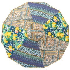 Sun Umbrella Beach Umbrella Vintage Fabric by Sunbeam Jackie