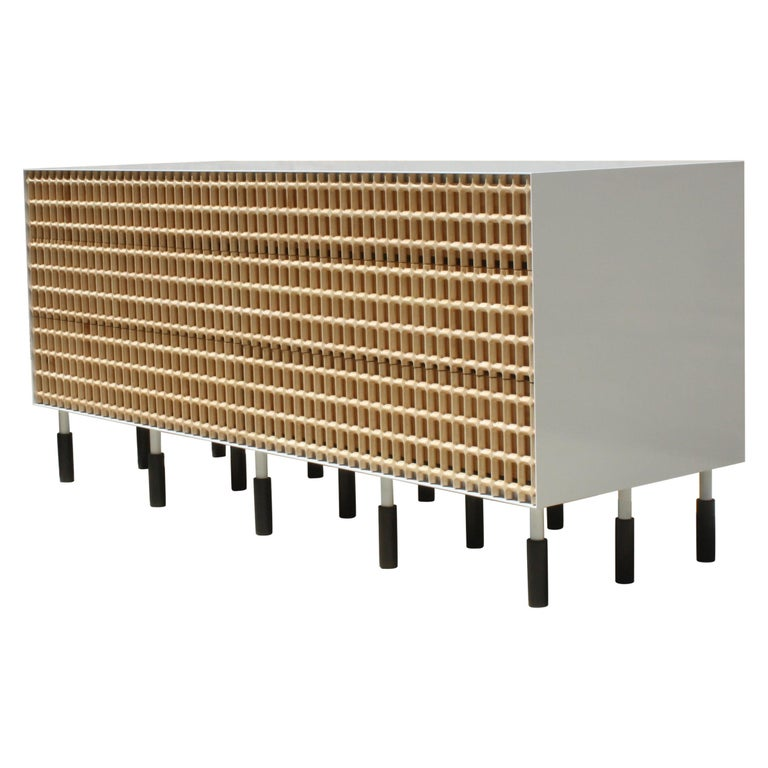 Sunbreaker Limited Edition Credenza or Sideboard by Laylo Studio For Sale