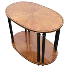 Sunburst Cherrywood Coffee Table