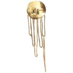 Sunburst Godhead Earrings by L'Enchanteur