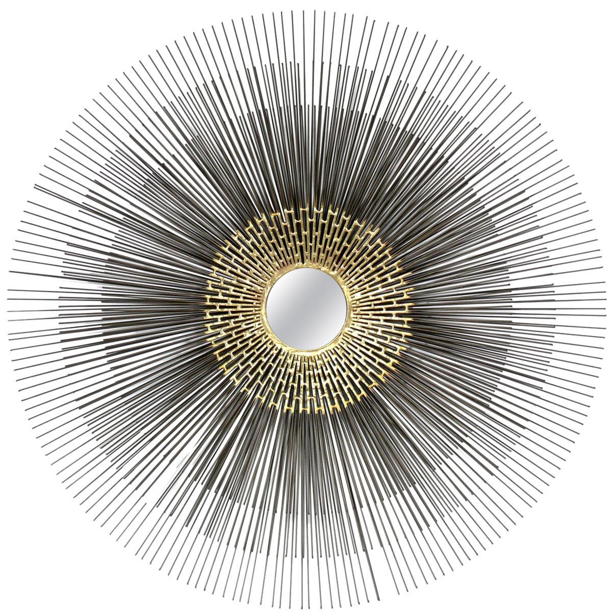 Sunburst Mirror or Wall Sculpture