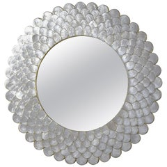 Sunburst Seashell Mirror