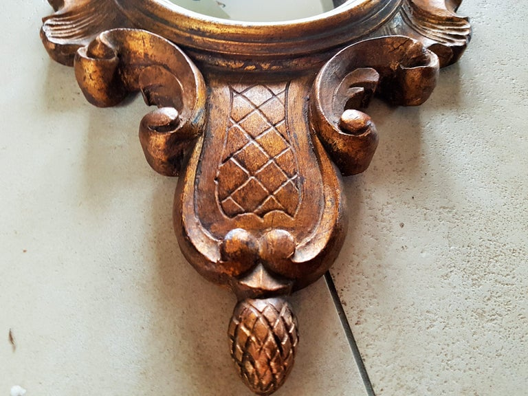 Sunburst Soleil Mirror Style Louis XV For Sale 9