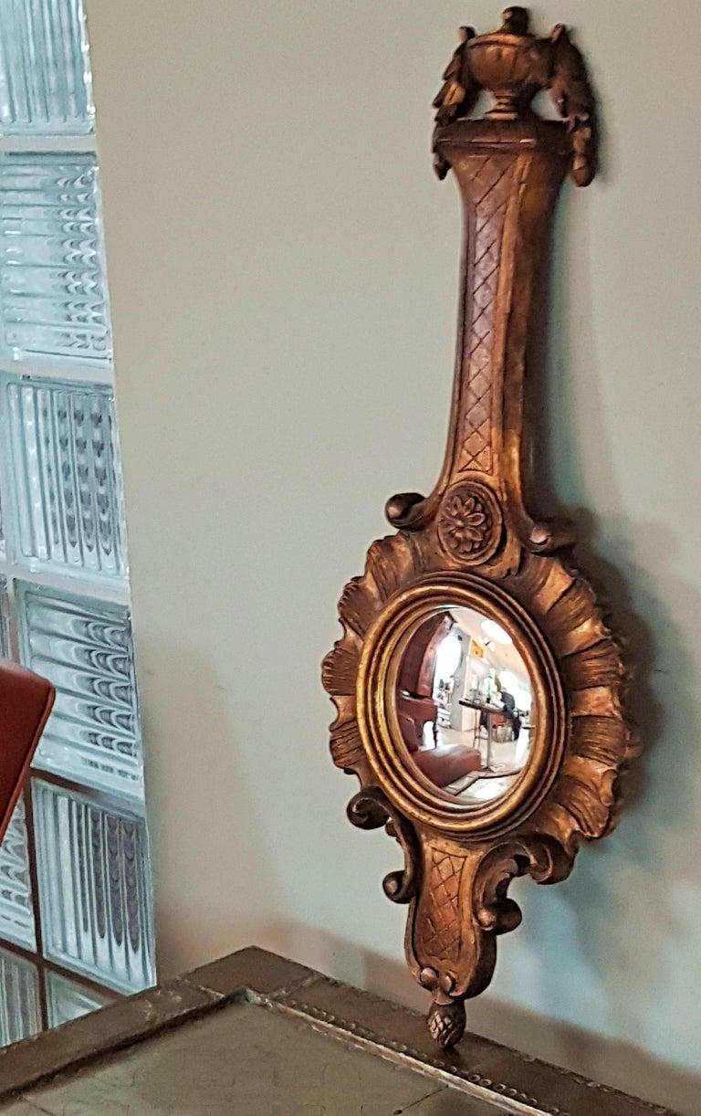 Plaster Sunburst Soleil Mirror Style Louis XV For Sale