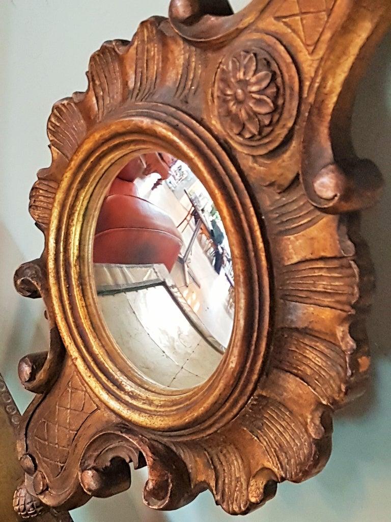 Sunburst Soleil Mirror Style Louis XV For Sale 1