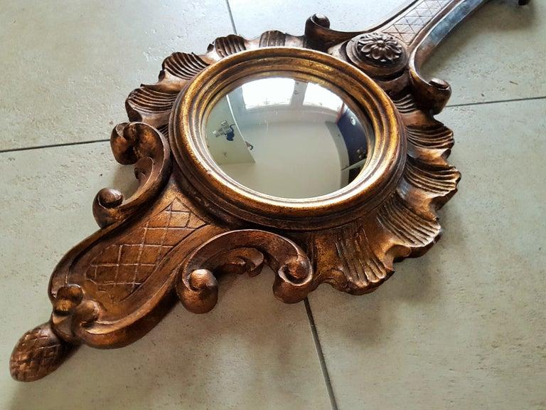 Sunburst Soleil Mirror Style Louis XV For Sale 3
