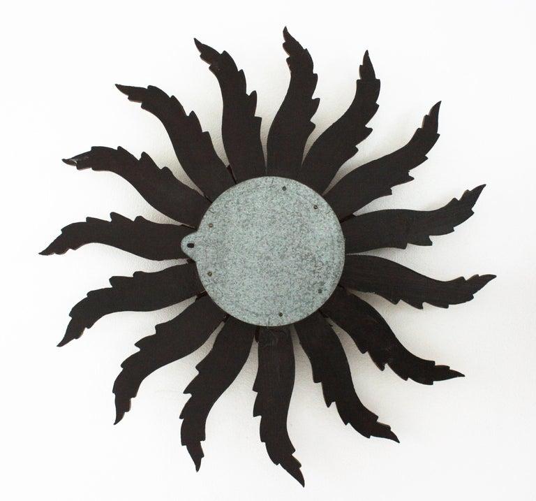 Sunburst Starburst Giltwood Mirror 1