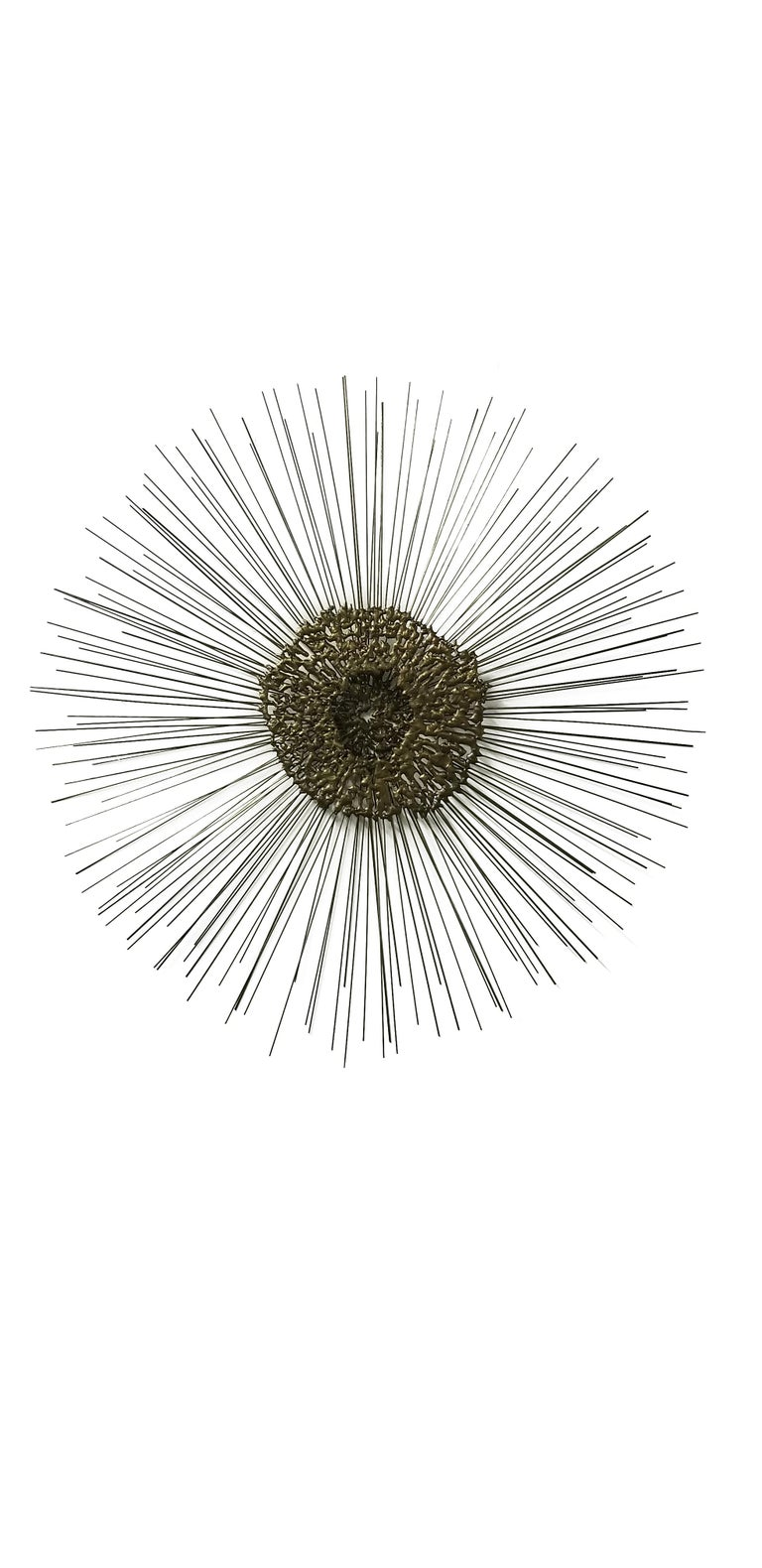 Sunburst Wall Sculpture by Bruce & William Friedle  For Sale 1