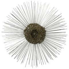 Sunburst Wall Sculpture by Bruce & William Friedle