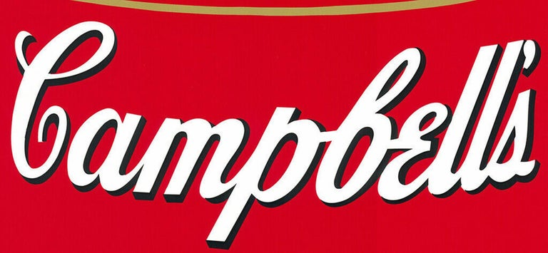 Campbell´s Tomato Soup (Andy Warhol, Pop Art) $45 SHIPPING U.S. only (not $499!) - Print by Sunday B Morning