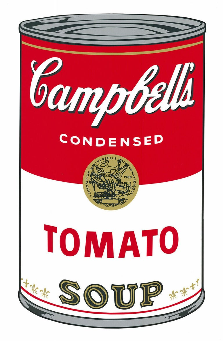 Sunday B Morning Figurative Print - Campbell´s Tomato Soup (Andy Warhol, Pop Art) $45 SHIPPING U.S. only (not $499!)