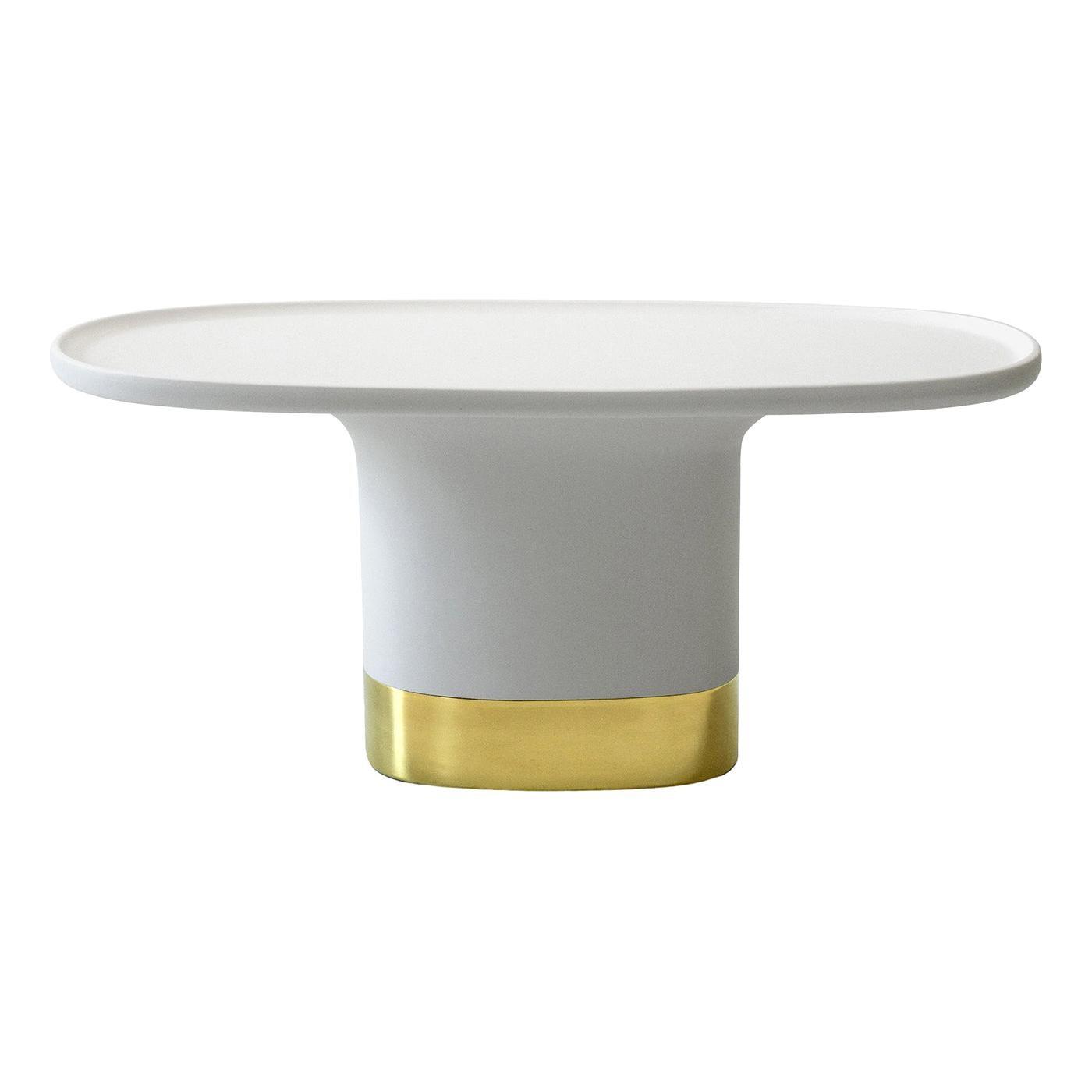 Sune S White Coffee Table by Matteo Zorzenoni