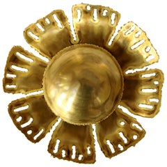 Sunflower Wall Light by Svend Aage Holm Sorensen