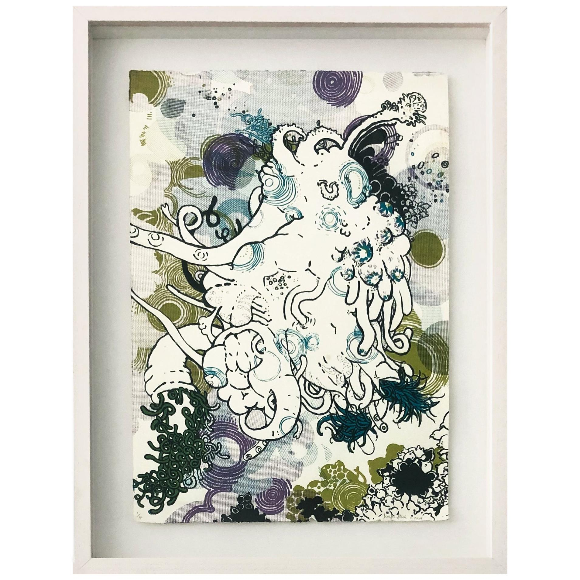 Sunflowerfast 2 , Limited Edition, Screen Print, Framed, 2004