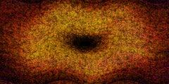 Heuristic #19 [Black, Orange, 3D, Lenticular, New media, Galaxy, Long width]