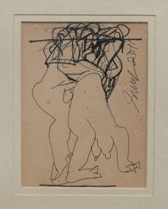 "Erotic Sensual Rendition of ""Torso"" by the Padmashree Sunil Das"