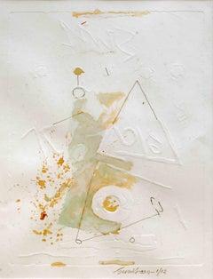 Litho work by National award winner, Modern Indian artist Sunil Das