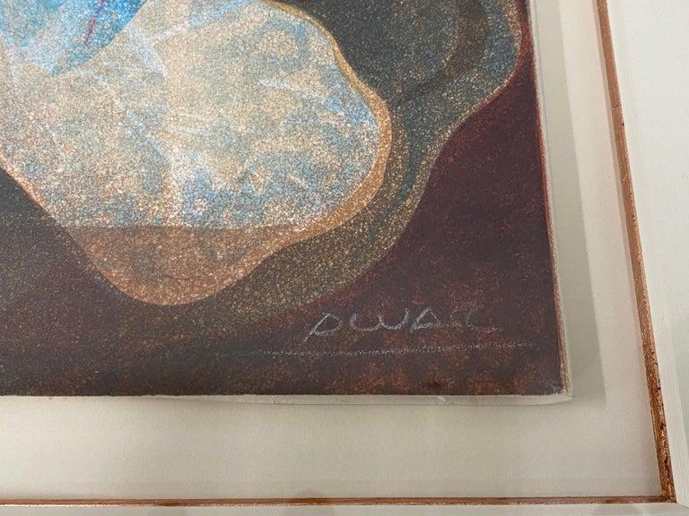 Alvar Sunol Pencil Signed Lithograph C.1970s For Sale 1