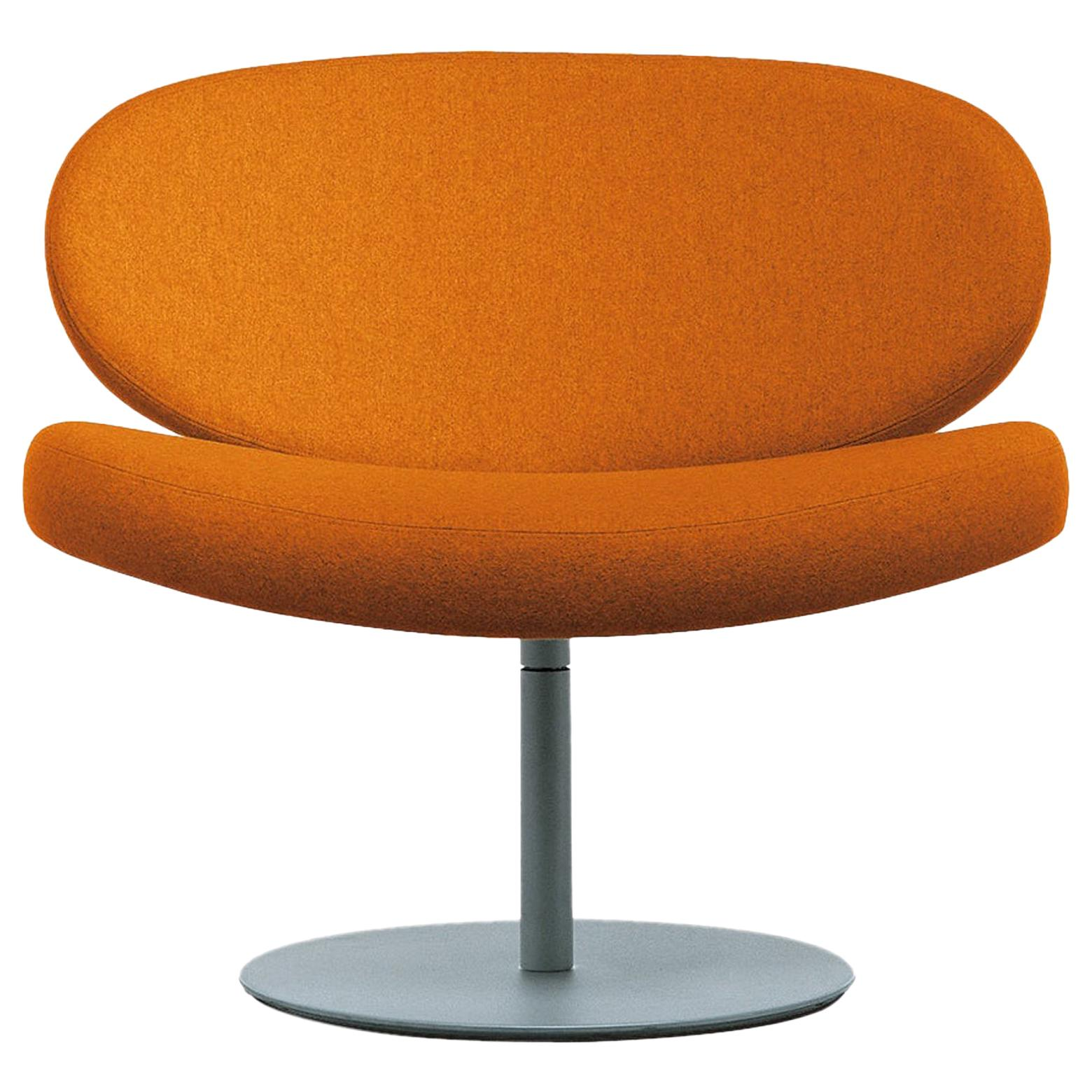 Sunset Armchair in Beech with Orange Hallingdal Fabric by Christophe Pillet