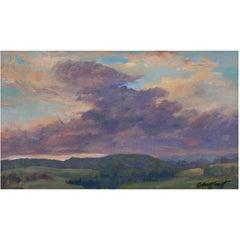 """Sunset Meditation"" Painting by Richard Chalfant"