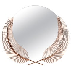 Sunset Medium Mirror in Copper Finish By Nika Zupanc