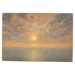 Sunset over the Sea, Jan de Clerck '1891-1964'