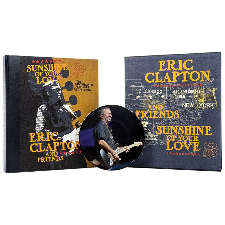 """""""Sunshine of Your Love"""" Signed, Limited Edition Book by Eric Clapton & Friends For Sale"""