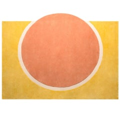 Sunshine Rug Hand Tufted in Wool and Viscose Blend