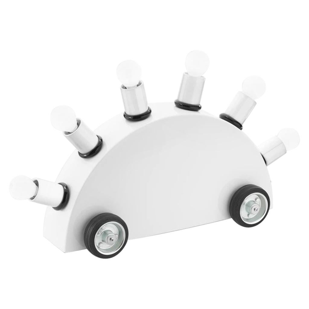 Super All White US 110V Table or Floor Lamp by Martine Bedin for Memphis Milano