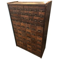 Super Cool Industrial Multi Drawer Hardware Store Cabinet