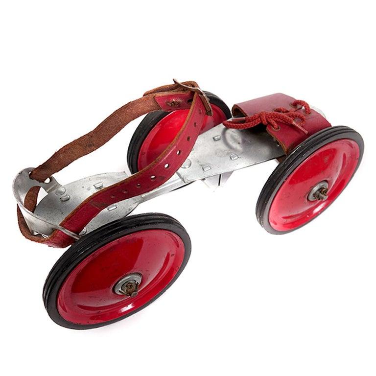 Skates For Sale >> Super King 3 Wheel Roller Skates For Sale At 1stdibs