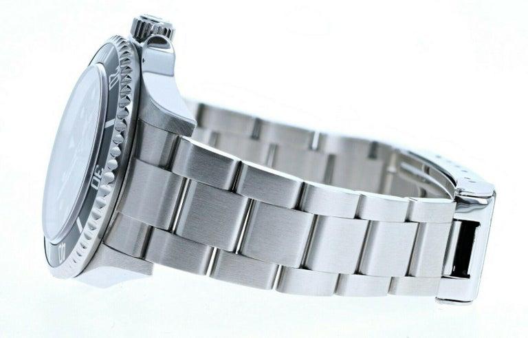 Super Mint Rolex 16600 Sea-Dweller Black Dial Men's Watch Box & Paper For Sale 1