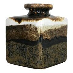 Super Rare 1970s Ceramic Studio Pottery Vase by Babara Stehr Ceramics, Germany