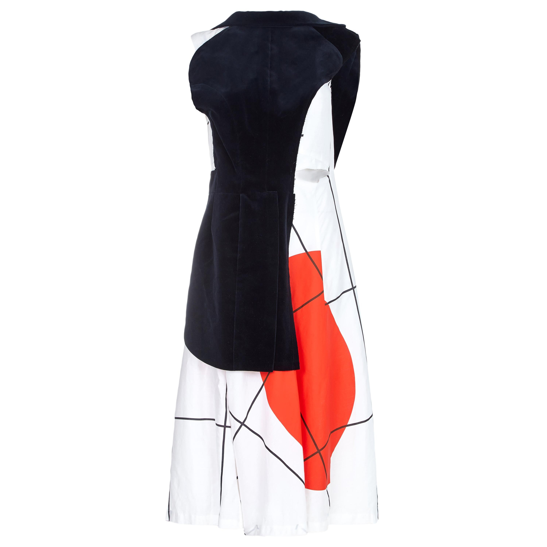 2007 Comme des Garcons Rising Sun Dress