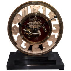 Super Rare Art Deco ATO Clock