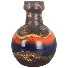 Super Rare Fat Lava Ceramic Pottery Vases by Dümmler and Breiden, Germany, 1970s