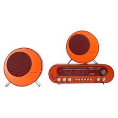 Super rare Pop 70 sound system by Blaupunkt, Germany 1969.