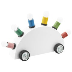 Super Special Edition 'White with Multi-Coloured Bulb Holders' by Memphis Srl
