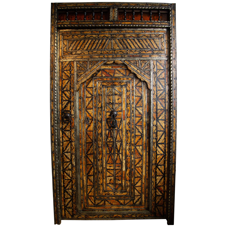 Superb 1900s Camel bone Large Door