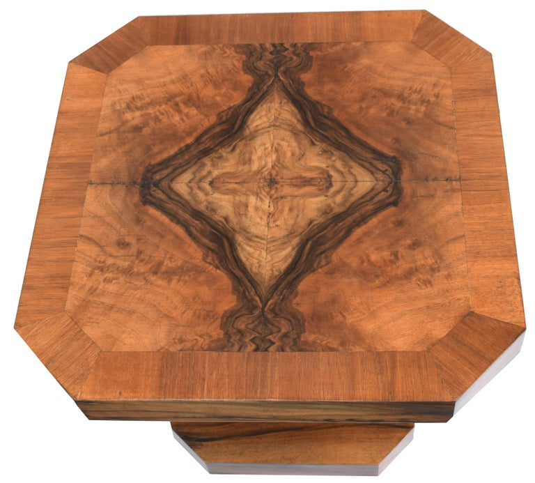 English Superb 1930s Art Deco Coffee Table For Sale