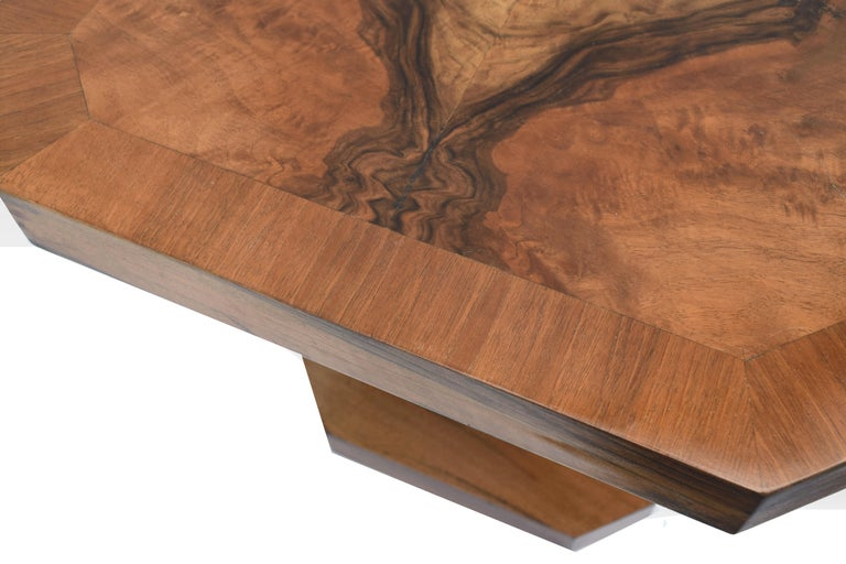 Superb 1930s Art Deco Coffee Table In Good Condition For Sale In Devon, England