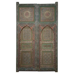 Superb 1980s Andalusian Moroccan Door