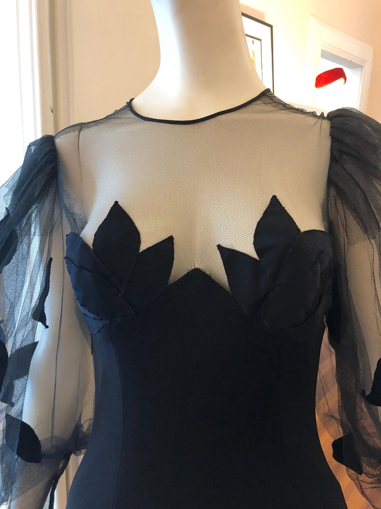 Superb 1980s Loris Azzaro Gown In Excellent Condition In Port Hope, ON