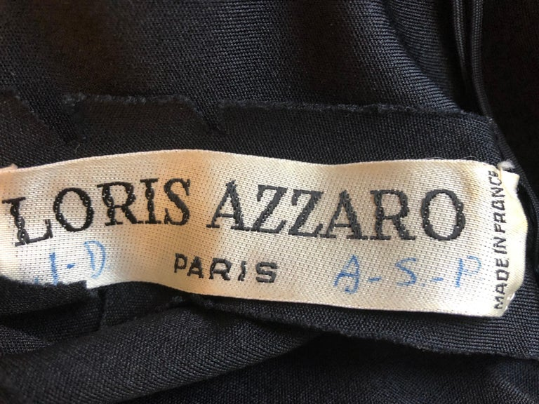 Superb 1980s Loris Azzaro Gown 3