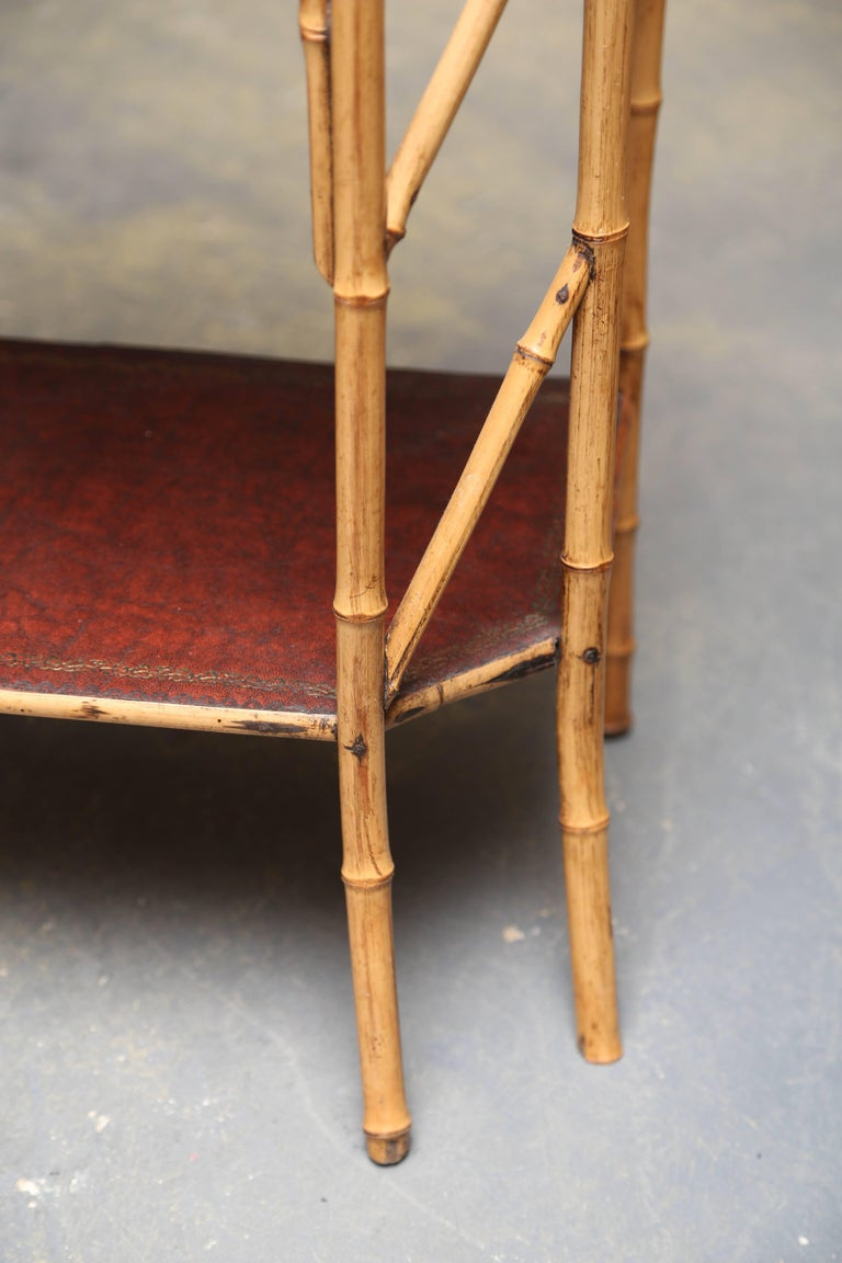 20th Century Superb 19th Century English Bamboo Book Stand