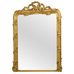 Superb 19th Century Giltwood Mirror